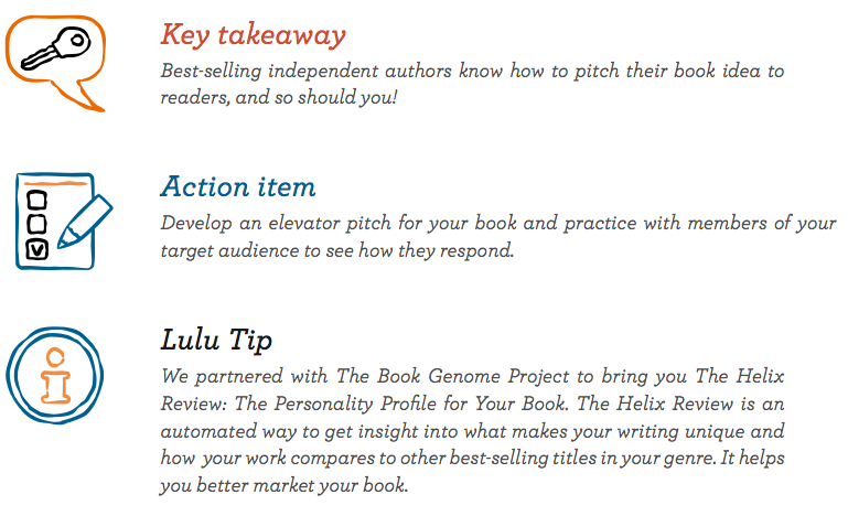 Key Takeaways for Knowing Your Book