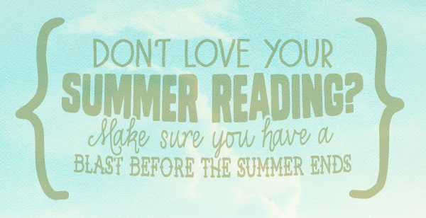 Summer Reading Blog Header