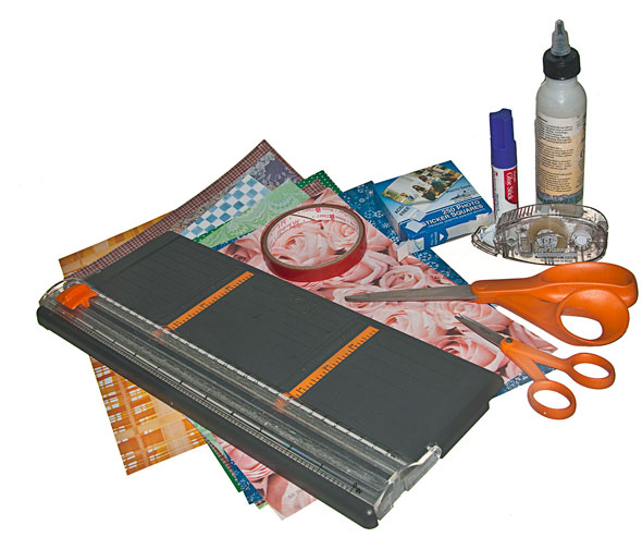 You could create a photo book with scrapbook supplies, or you could upload your photos and print the book with Lulu