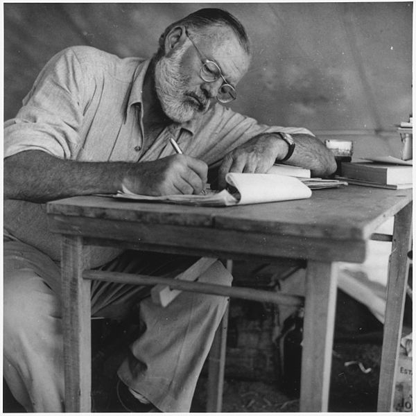 Writers Block Hemingway