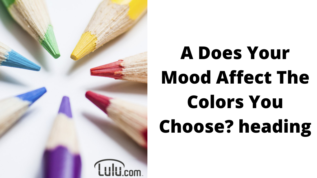 Coloring With Chakras: Does Your Mood Affect The Colors You Choose?