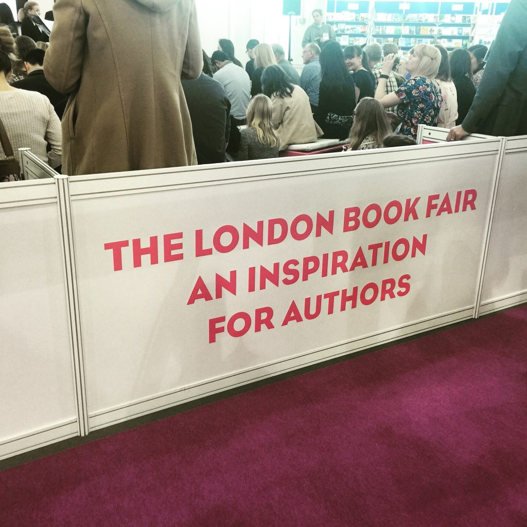 2016 London Book Fair Author Banner
