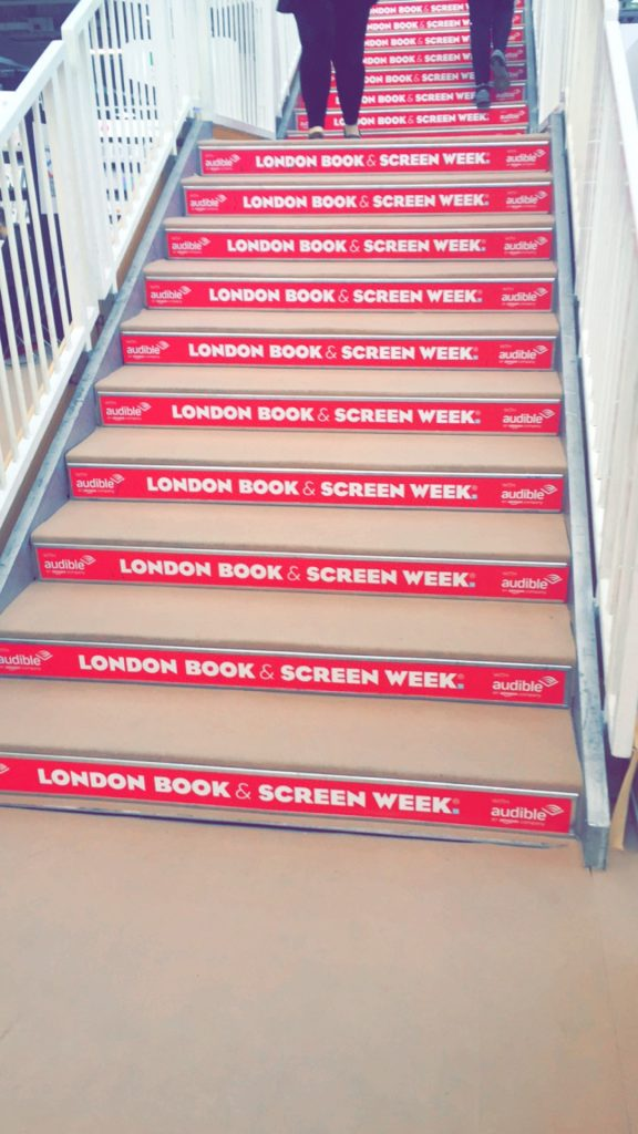 2016 London Book Fair Booksteps