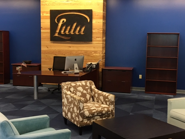Our new lobby. Come on in!