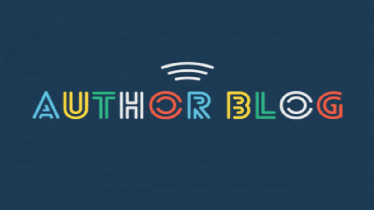 Author Blog Graphic Header