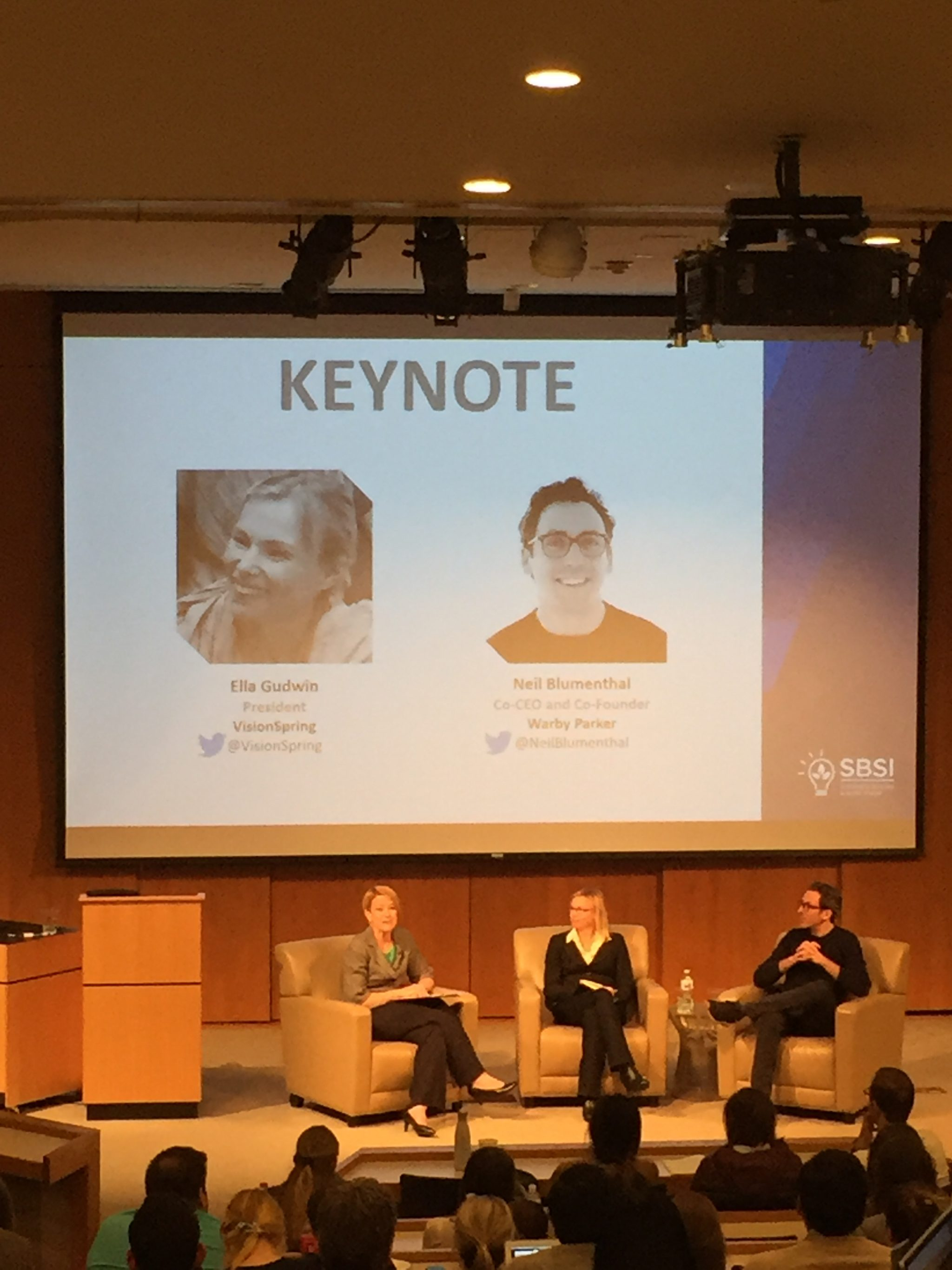 Social Enterprises, Keynote, SBSI, B Corp