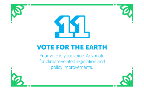 30 Ways in 30 Days #11 - Vote for the earth