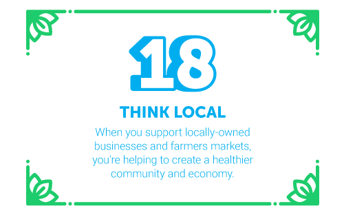 30 Ways in 30 Days #18 - Think Local
