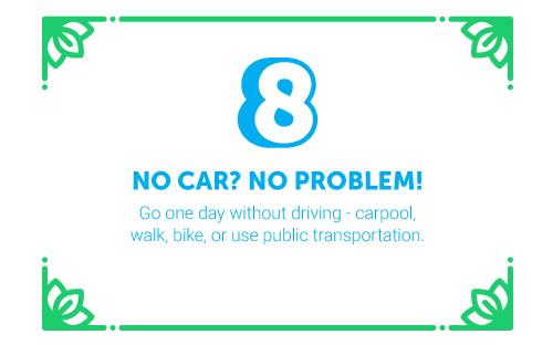 30 Ways in 30 Days #8 - No car? No problem