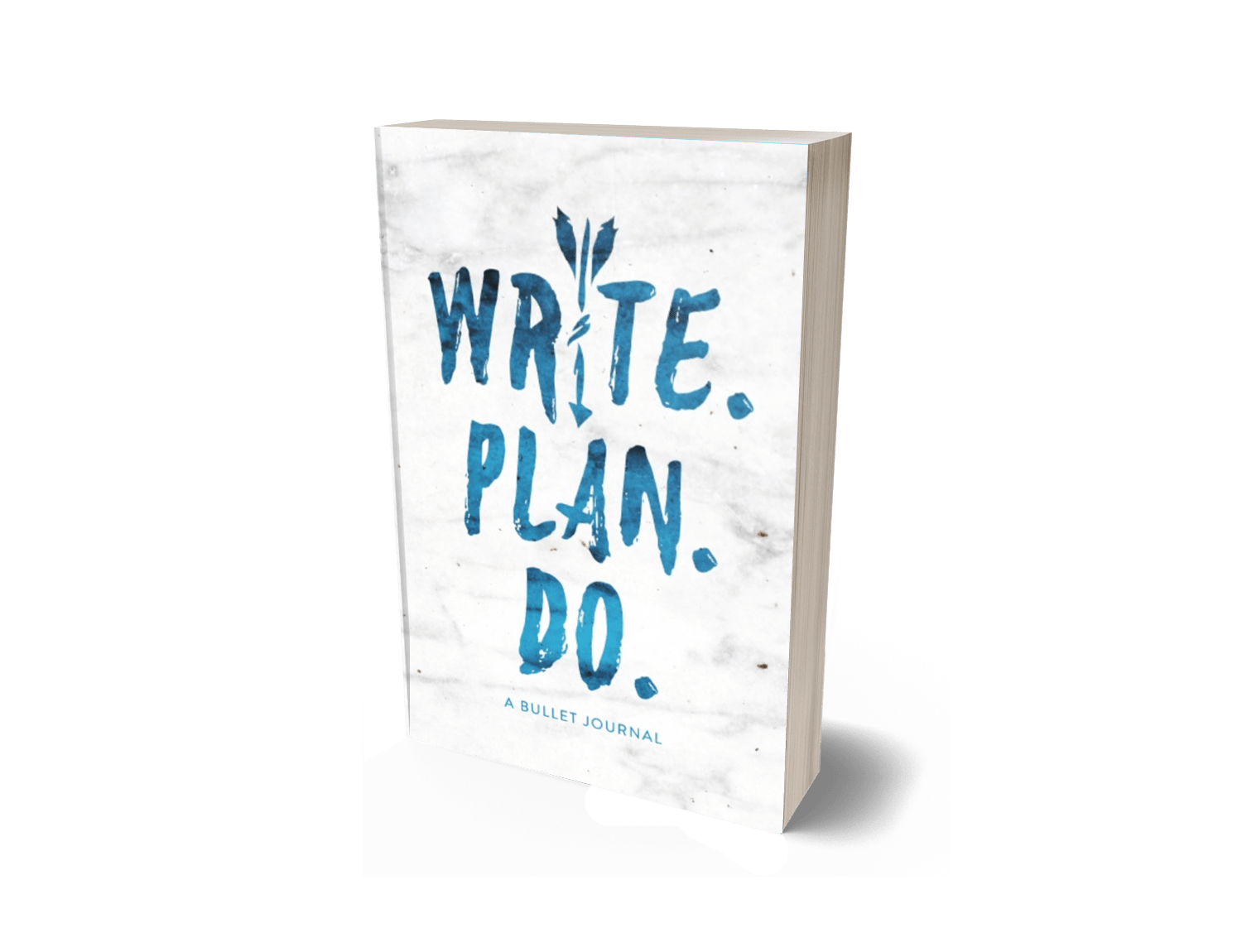 Write. Plan. Do. Bullet Journal (Blue)