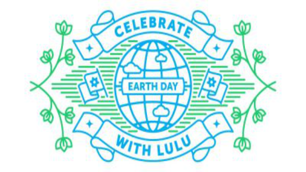 Celebrate Earth Day with Lulu Blog Graphic Header