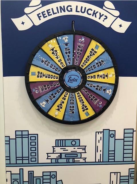 Lulu Prize Wheel