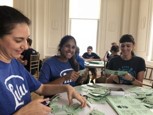 Team Lulu Volunteers with Activate Good for 9/11 Day of Service