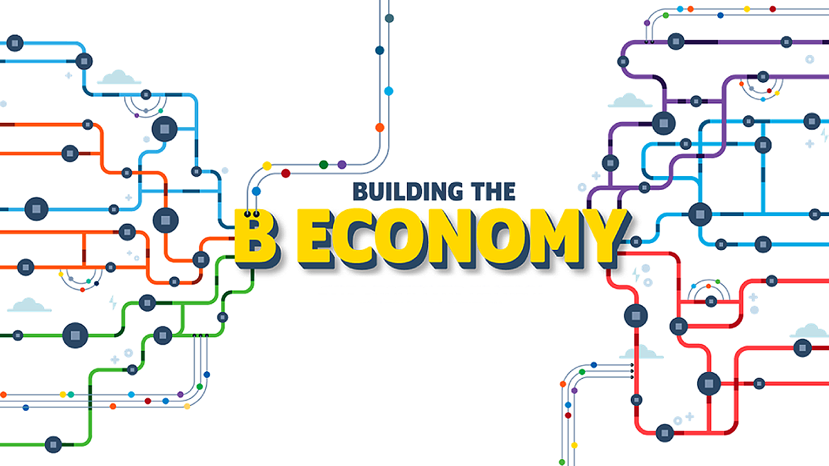 Building the B Economy blog graphic
