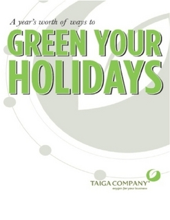 A Year's Worth of Ways to Green Your Holidays