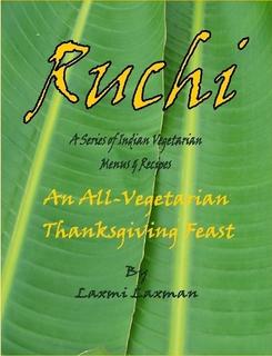 Ruchi_an all vegeterian thanksgiving feast