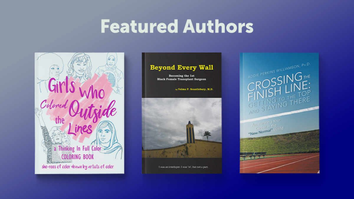 March Featured Author Blog Graphic Header