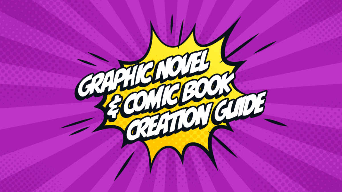Creating a Comic Book or Graphic Novel from an Author's perspective blog header