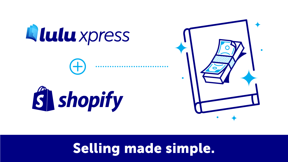 Shopify and Lulu Graphic