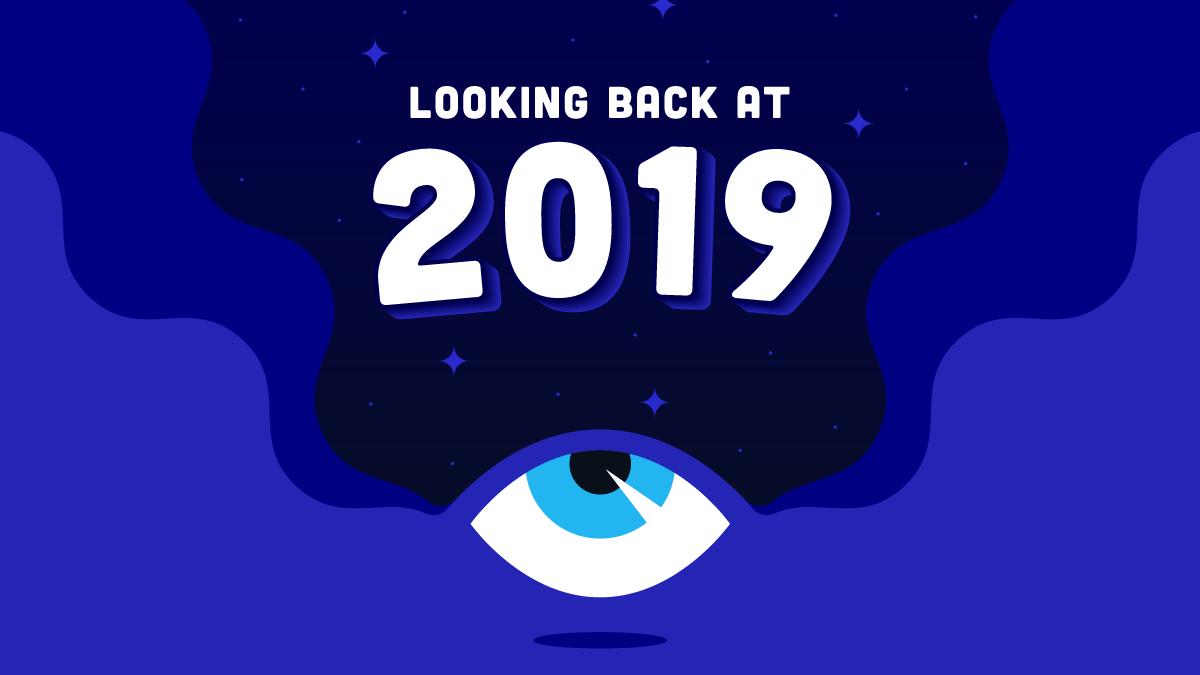 Looking Back at 2019 Blog Graphic Header