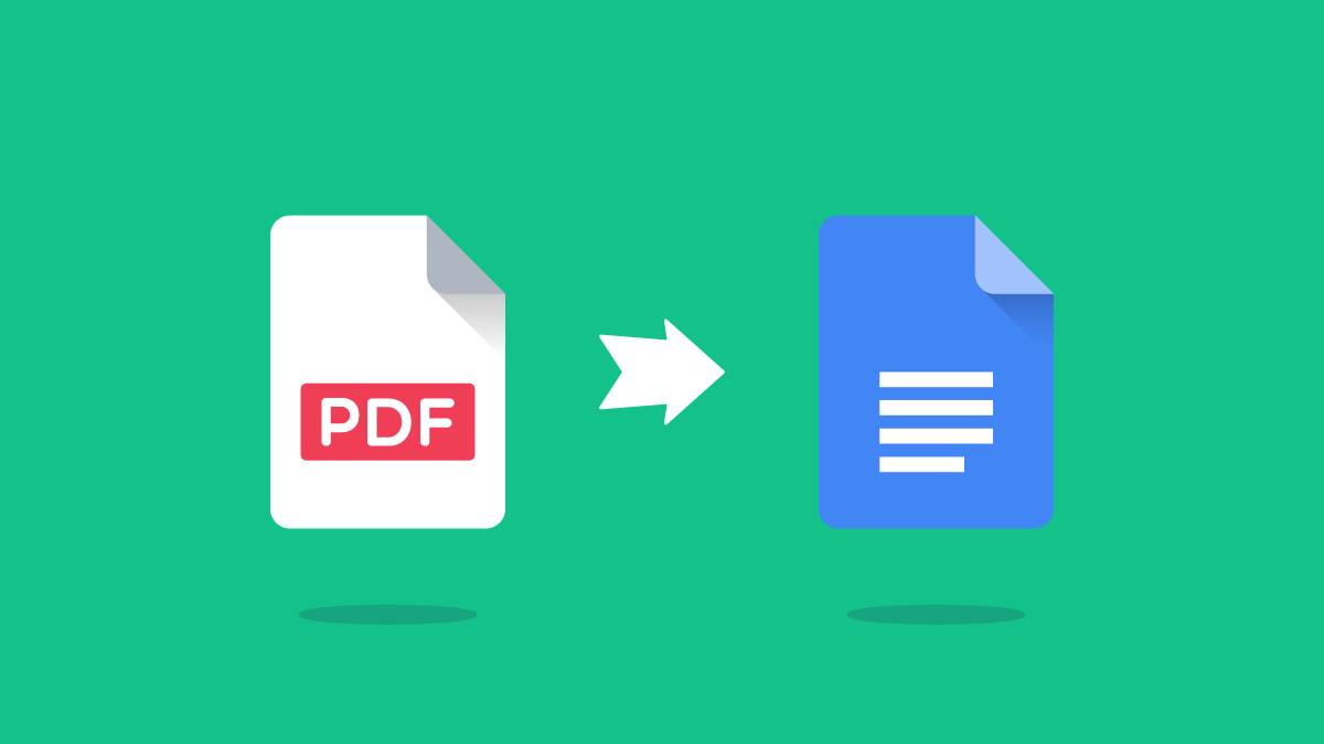 Google Docs to PDF conversion