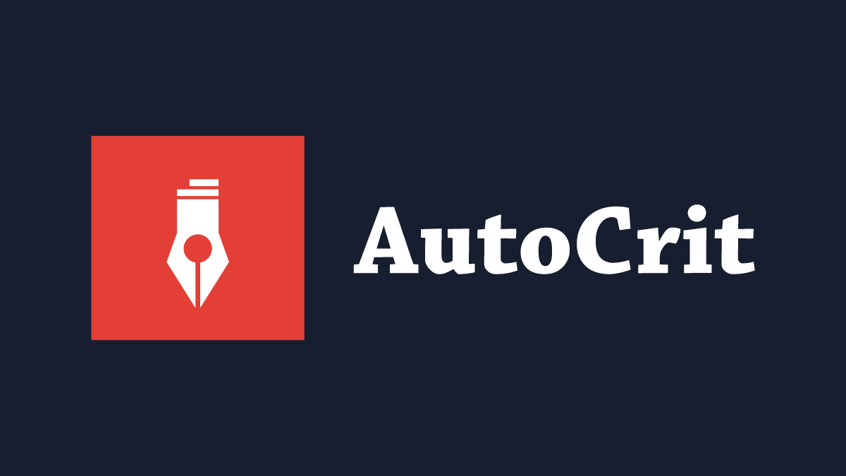 AutoCrit Review: Self-Editing Software
